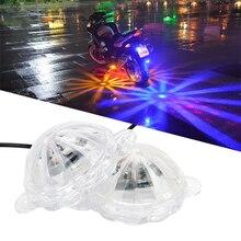 LEEPEE атмосферная лампа мотоциклетный светильник ing Moto светильник украшение мотоцикла мотоцикл вспышка стробоскоп светильник светодиодный атмосферная лампа