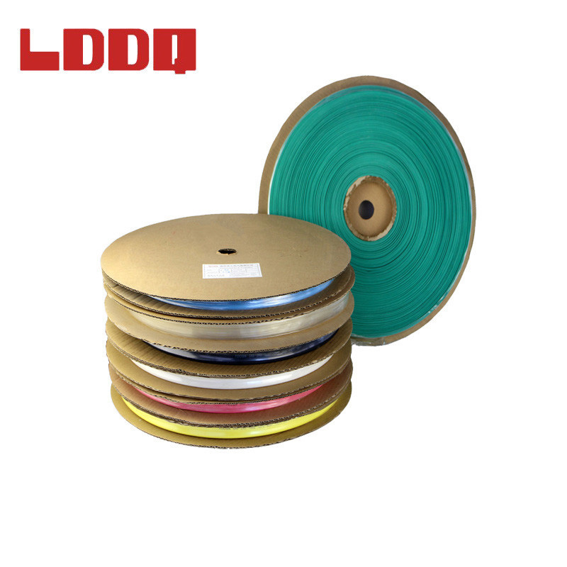 LDDQ 100m Heatshrink 14mm Shrinkable Tubing In Rolls 7colors Available Insulation Sleeve PE material Environmental Friendly