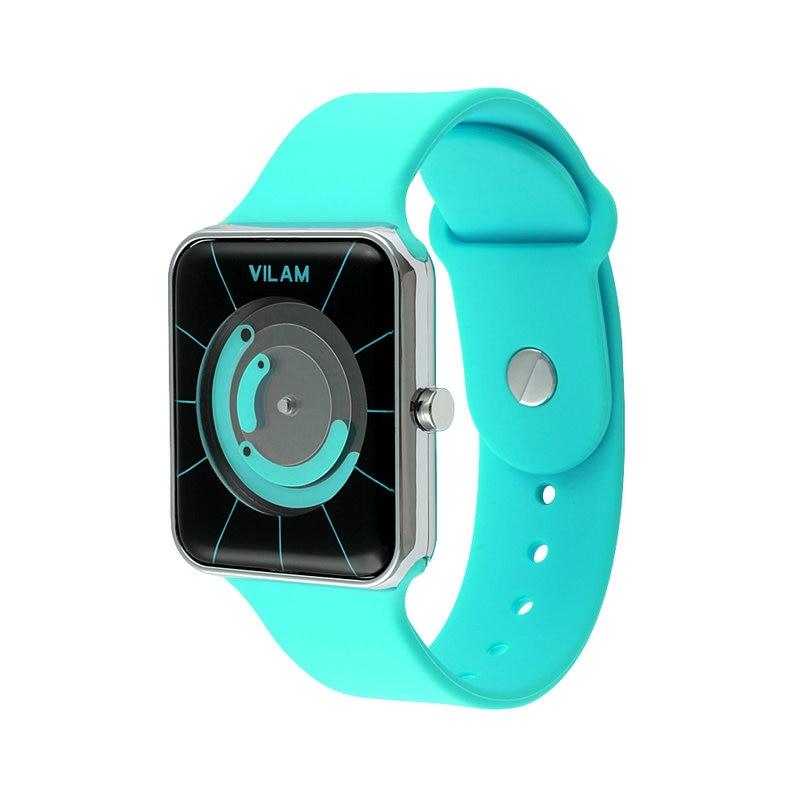 VILAM Fashion Silicone Wrist Watch s
