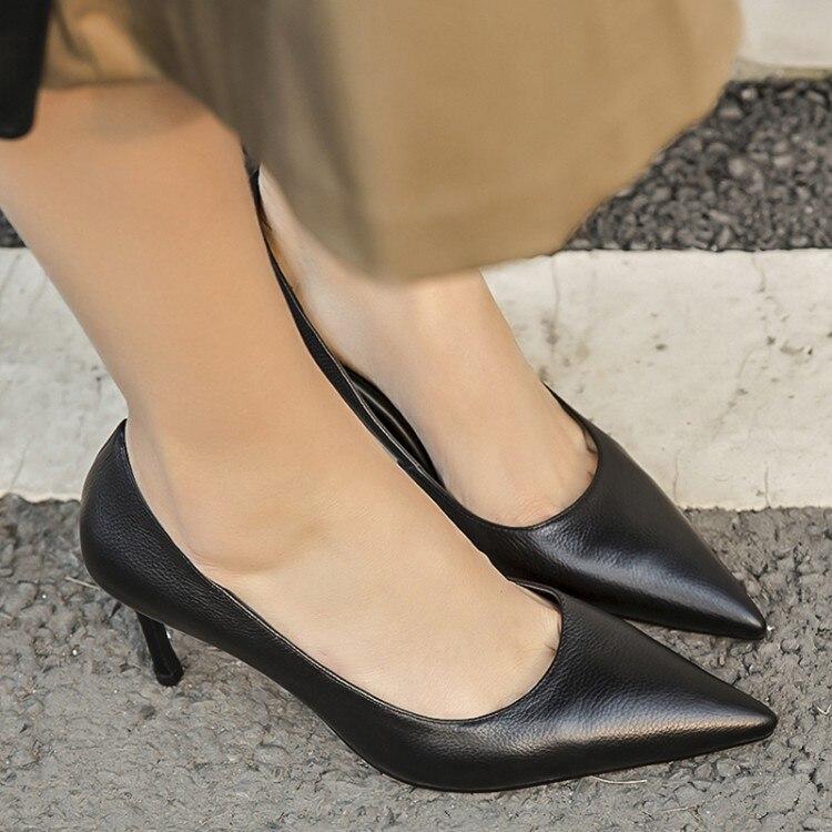 6e097f738 Dedo Zapatos Mujer De preto Salto Mulheres Casamento Alto Sexy Trabalho Do  {zorssar} Negócios Pé Sapatos Bombas ...