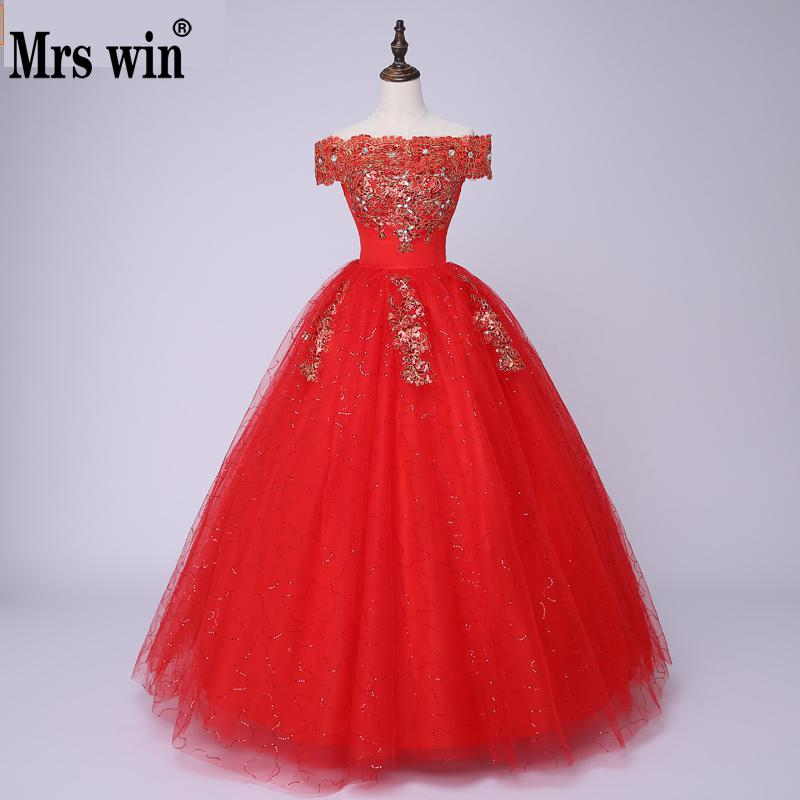 Elegant Tulle Lace Boat Neck Half Sleeves Simple Wedding Dresses Vestido De Noiva Robe De Mariage Gorgeous New Princess