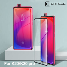 Cafele Tempered Glass For Xiaomi 9 9t pro Redmi K20 Pro Note 7 Full Coverage 4D Screen Protector For Redmi K20 Pro Ultra-thin цены