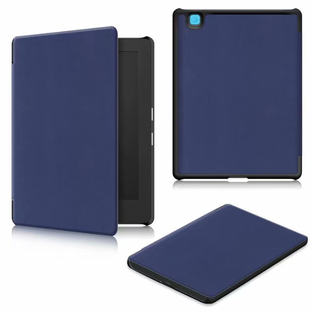 Case for 2017 Kobo Aura H2O Edition 2 PU Leather Ultra Slim PC Back Cover for kobo aura h2o edition 2 6.8 inch Case