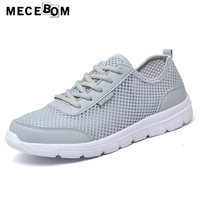 Men Shoes Summer Large Size 35 48 Breathable Mesh Shoes Lace Up Men Causal Shoes Quality