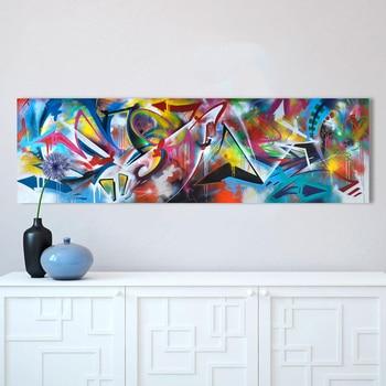 HDARTISAN Bunte Graffiti Öl Abstrakte Malerei Leinwand Drucke für Wand  Kunst Bild für wohnzimmer Wohnkultur