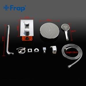 Image 5 - Смеситель для душа Frap, светодиодный, с цифровым дисплеем