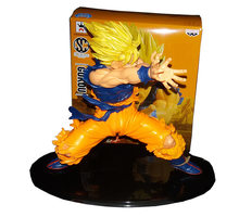 Japanese Anime Figures Dragon Ball z Figurines saiyan Son Gokou kamehameha scale models PVC Action Collection Toy dragonball(China)