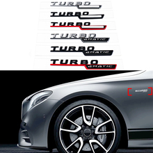 1-20 Pair For AMG 4MATIC TURBO Emblem Logo Side Fender Sticker Mercedes Benz B180 B200 W245 W246 GLC CLA W463 W447 GLK