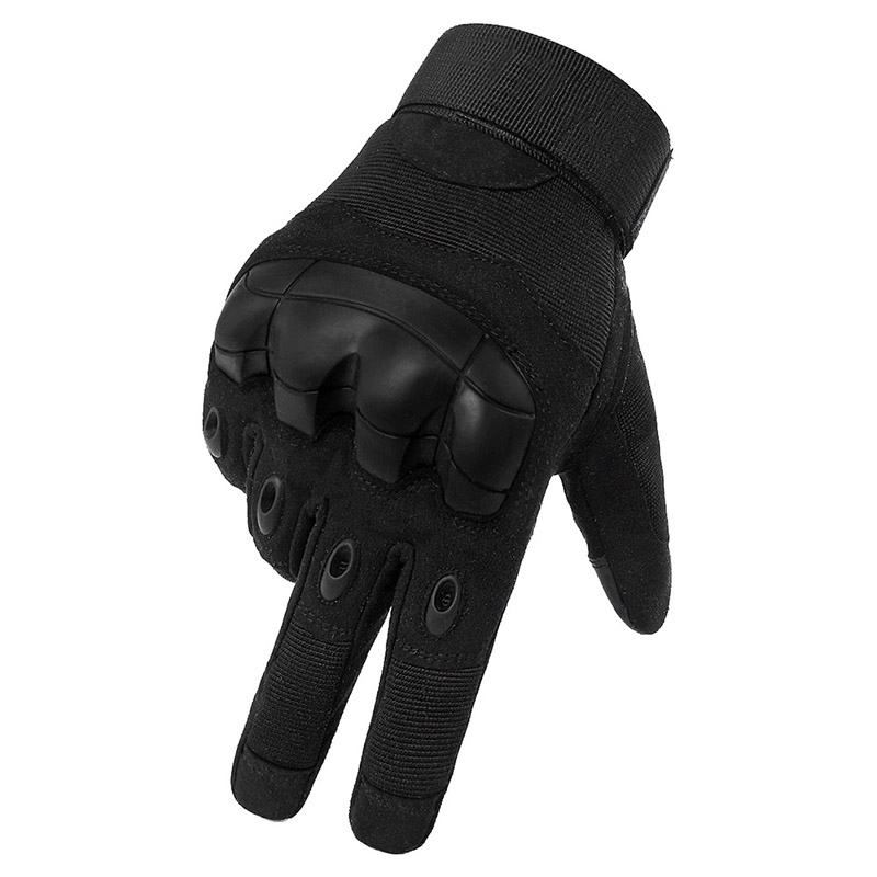 Touchscreen Camping Wandern Handschuhe Volle Finger <font><b>Tactical</b></font> <font><b>Military</b></font> Paintball Anti-Skid Gummi Harte Knuckle Handschuhe Sportswear image
