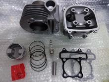 Scooter 150cc 180cc 61mm GY6 Engine Rebuild Kit Cylinder Kit Cylinder Head Chinese Scooter