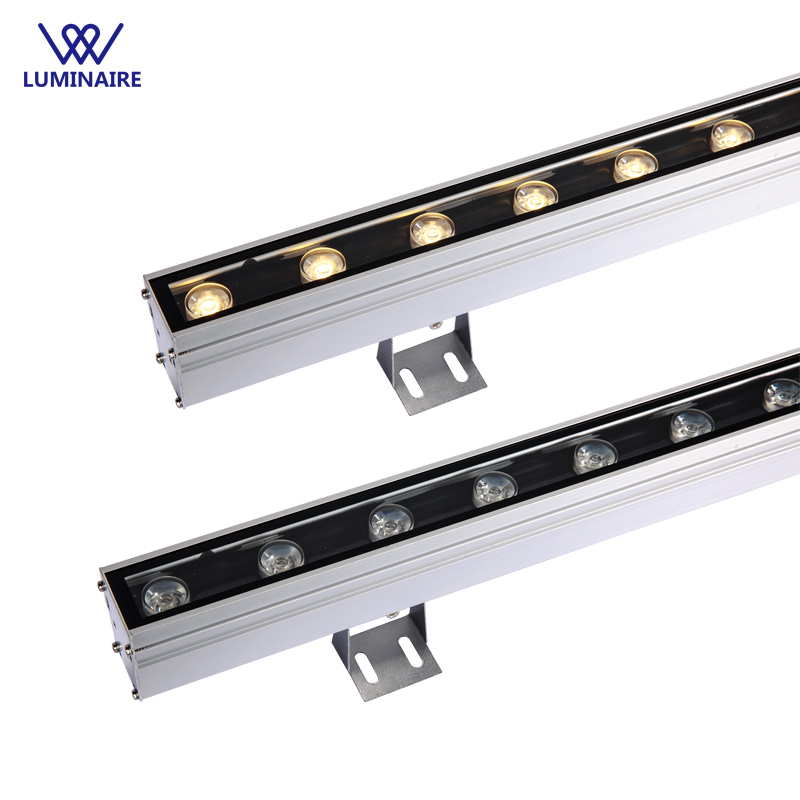 VW Luminaire led wall washer light 18W Exterior led projector DC24V led flood light aluminium Linear High Power Projector IP67