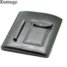 купить Case for iPad Pro 10.5 Ultra Retro PU Leather Tablet Sleeve Pouch Bag Cover for iPad 10.5 inch A1701 A1709 Funda Tablet Case дешево