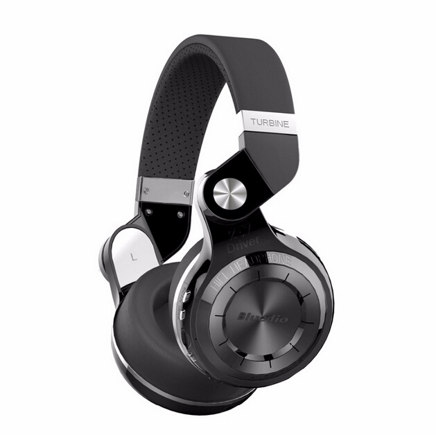 ФОТО 100% Original Fashion Bluedio T2 + upgrade card FM headset Bluetooth headset 4.1 double alloy horn headphone