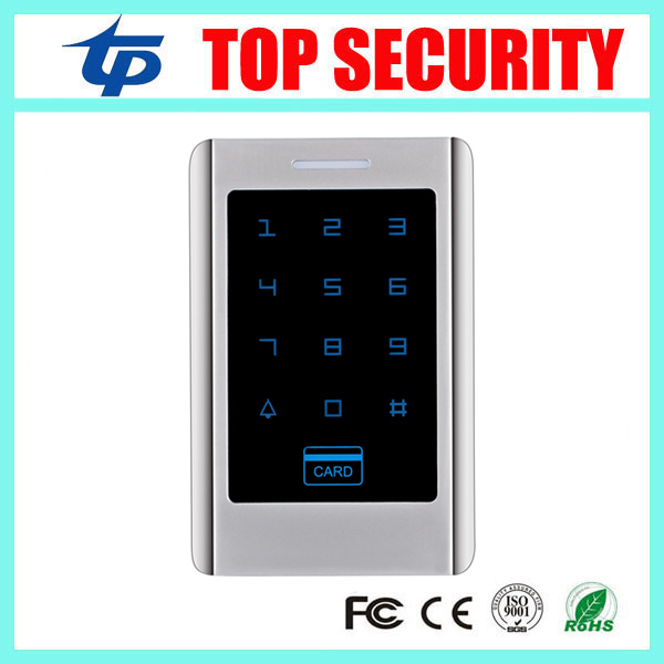 Good quality standalone metal access control reader single door 125khz RFID card access controller original access control card reader without keypad smart card reader 125khz rfid card reader door access reader manufacture