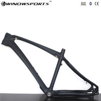 27.5er эндуро 650b углерода mtb раме велосипеда T800 углеродного волокна Рама велосипед карбоновая рама 27.5er UD матовая