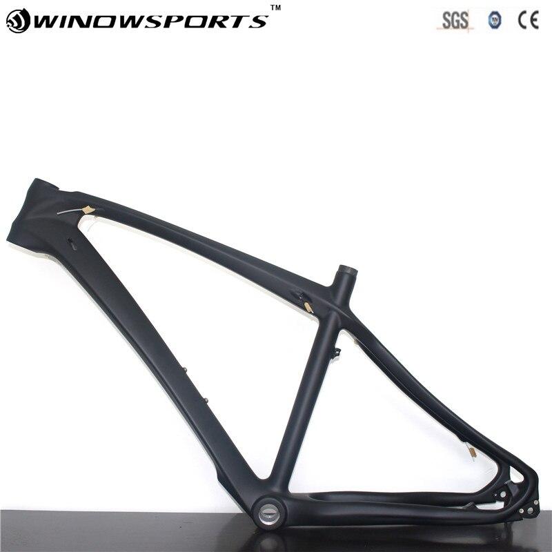 27.5er Enduro 650b Carbon Mtb Bicycle Frame T800 Carbon Fibre Frame Bike Carbon Frame 27.5er UD Matte
