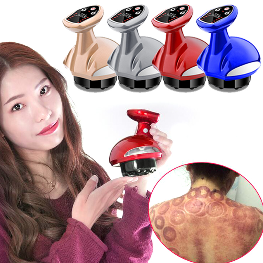 Electric Cupping Massager Suction Vacuum Ventouse Anti Cellulite Cupping Can Magnet Therapy Guasha Scraping Body Slimming Device