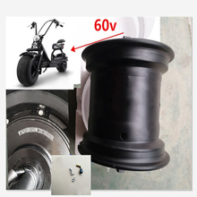 18inch Widen Scooter Drive Motor Wheel 2000W 60V 72V Hally Motor Electric Motocycle Citycoco Scooter Electric Bicycle Motor стоимость