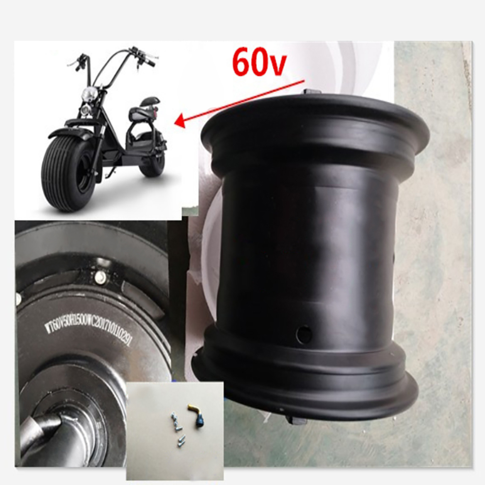 Harley Scooter Car Drive Motor Wheel 2000W 60V 72V Hub Motor Electric Motocycle Citycoco Scooter Electric Bicycle Motor Wheel цены онлайн