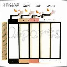 Siringe para blackview a8 pantalla táctil pantalla táctil digitalizador del sensor para blackview a8 teléfono móvil touch panel frontal de cristal + cinta