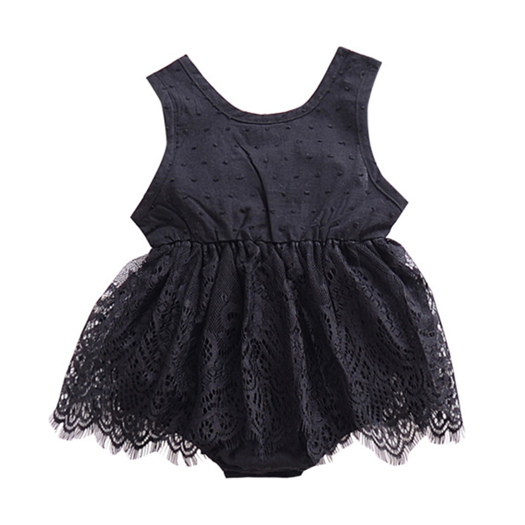 f5328b2632d2 2018 New Cute Newborn Baby Girl Romper Clothes White Lace Playsuit Jumpsuit  Outfit Summer Bebes Sunsuit 0-24M