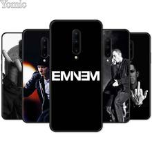 Silicone Cover Shell for Oneplus 7 7 Pro 6 6T 5T Black Case for Oneplus 7 7Pro Soft Phone Case Eminem