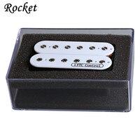 High Quality 1PCS Humbucker Pickup 4 Wire Double Coil Zebra Electric Pickup 52mm Guitar Bridge Pickup