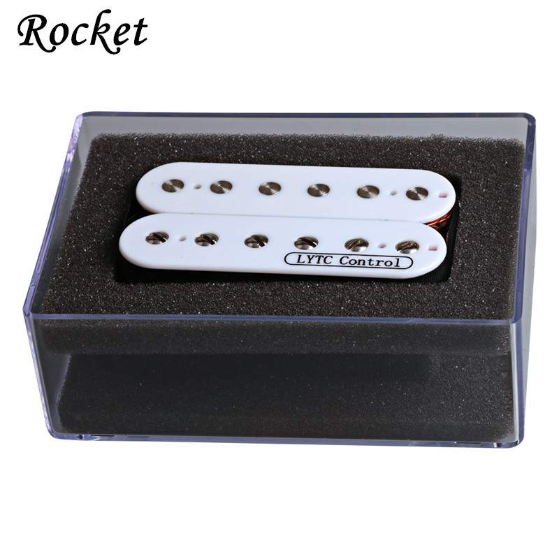 High quality 1PCS Humbucker Pickup 4-Wire Double Coil Zebra Electric Pickup 52mm Guitar Bridge Pickup electric guitar pickup humbucker for 6 string 6 pieces double coil pickups set neck bridge pickup humbucker double coil