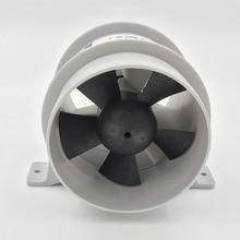 해양 4 인치 디아 방수 ABS 높은 공기 흐름 조용한 송풍기 방수 12V