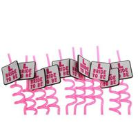 10pcs Hen Party Plate Drinking Straw For Hen Night Girls Bachelorette Party Wedding Party Straws Event