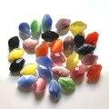 60 pçs/lote Classe AAA 13x9mm Contas Olho de Gato Oval Contas Espaçador Beads Apreciação Jóias Para Fazer Jóias pulseiras Colares DIY