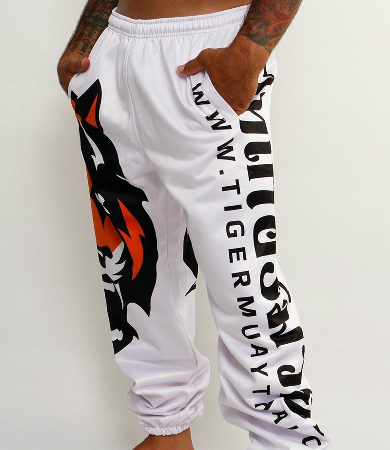 high quality Tigers Printing MMA Fight Pants Muay Thai Boxing Shorts Sweat Quick drying Fight Training Running Shorts-in Trainning & Exercise Pants from Sports & Entertainment    2