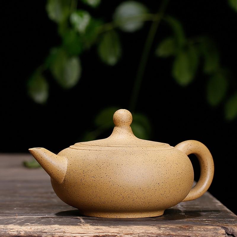 290ML Undressed ore mud duan kung fu kettle yixing teapot with gift box suit dahongpao Oolong tie guan yin