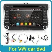 Android 6,0 Автомобильный DVD VW gps навигация Wifi   Bluetooth   радио Авторадио 2 Din для Volkswagen GOLF 4 5 6 POLO PASSAT Jetta Tiguan