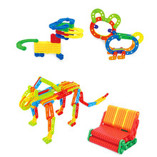 Building Blocks Board Games For Children Kids DIY Brick Assembling Early Educational Table Games