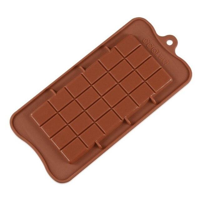 VOGVIGO moule à chocolat 24 cavité | Moule à gâteaux de cuisine, outil de cuisson en Silicone pour bonbons, moule à sucre, bloc de barre, plateau à glace, outil à gâteaux