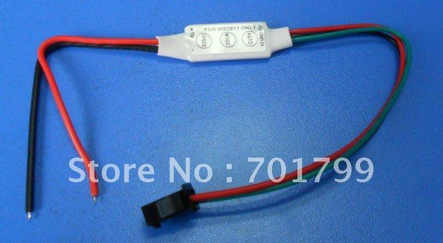 DC5V input WS2811 LED smart pixel controller, for testing, max 100pixels controlled