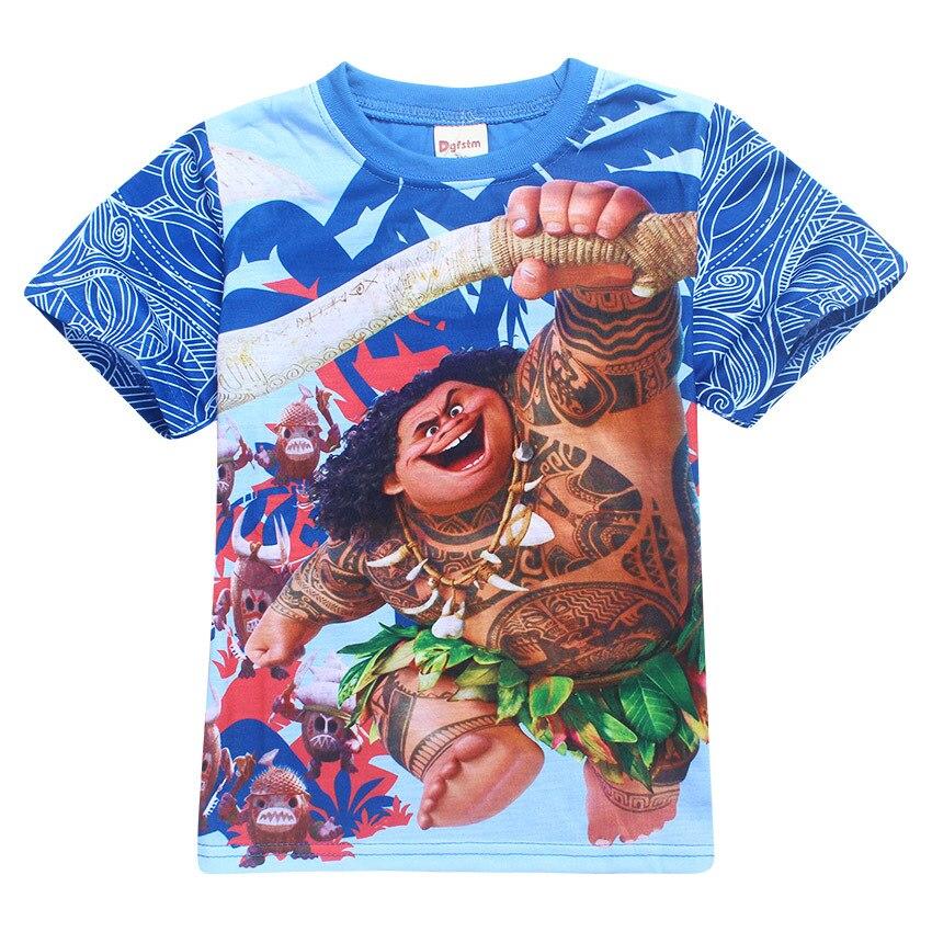 Children s Maui T Shirt Boys T shirt Baby Clothing Little Boy Summer Shirt Cotton Tees