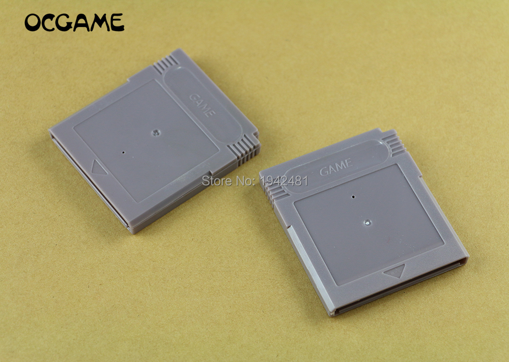 OCGAME 10set/lot Game Card Cartridge Shell for gameboy color GBC GB card Housing for GBA SP with Screw image