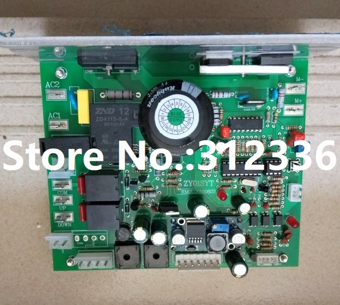 Free Shipping Motor Controller ZY01SYT treadmill motherboard control circuit board computer under control boardFree Shipping Motor Controller ZY01SYT treadmill motherboard control circuit board computer under control board