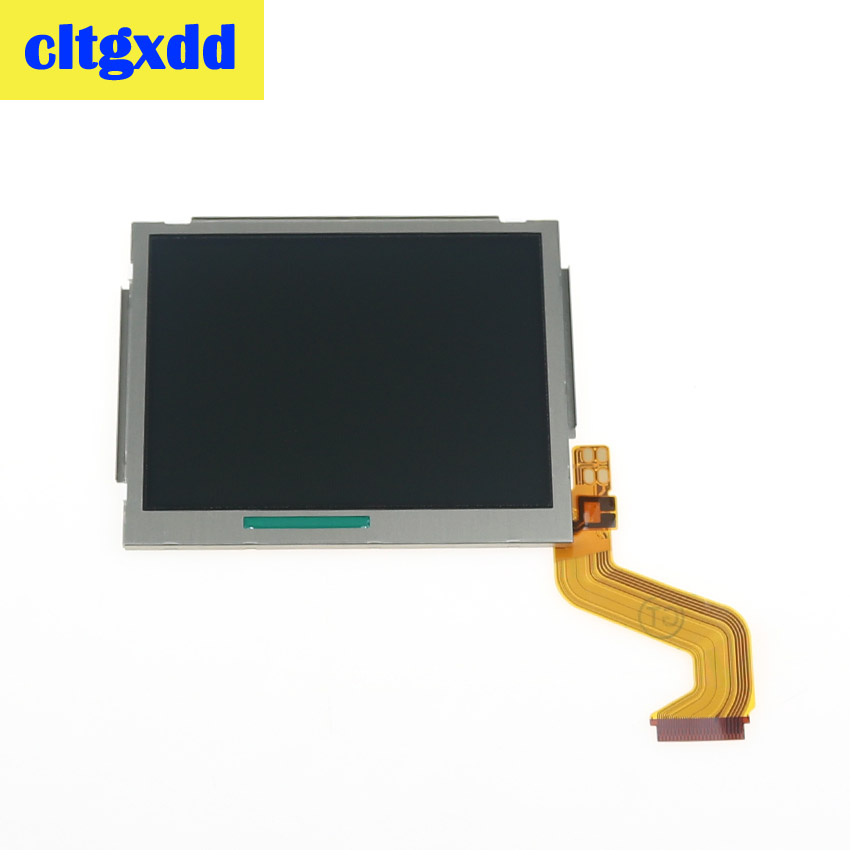Cltgxdd High Quality Top Upper / Bottom Lower LCD Display Screen For Nintendo N D S I Component Repair Replacement