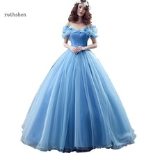 49ab17c5d39b Fairy Vestidos De Dulces 16 Quinceanera Dresses Light Blue Off Shoulder  With Butterfly Organza Sweet 15 Masquerade Ball Gowns