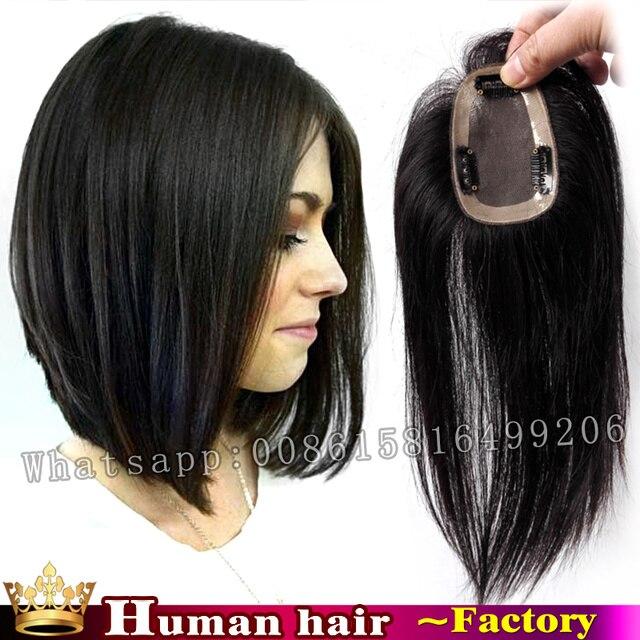 30 CM 100% cheveux Brésiliens clip en vrais