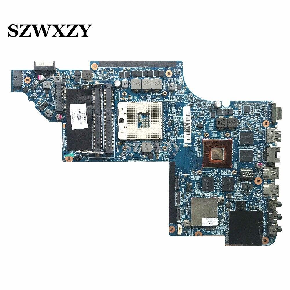 Высококачественная материнская плата для ноутбука HP Pavilion DV7 DV7T 639391-001 HM65 DSC6770/1G, полностью протестирована