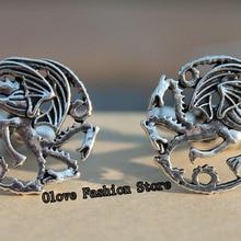 Game of Thrones Dragon Cufflinks,Luxury Cuff Links for