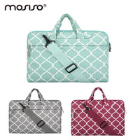 Mosiso Womens Laptop Bag Shoulder Briefcases For Macbook Notebook Computer Handbag For Asus Lenove Air Pro