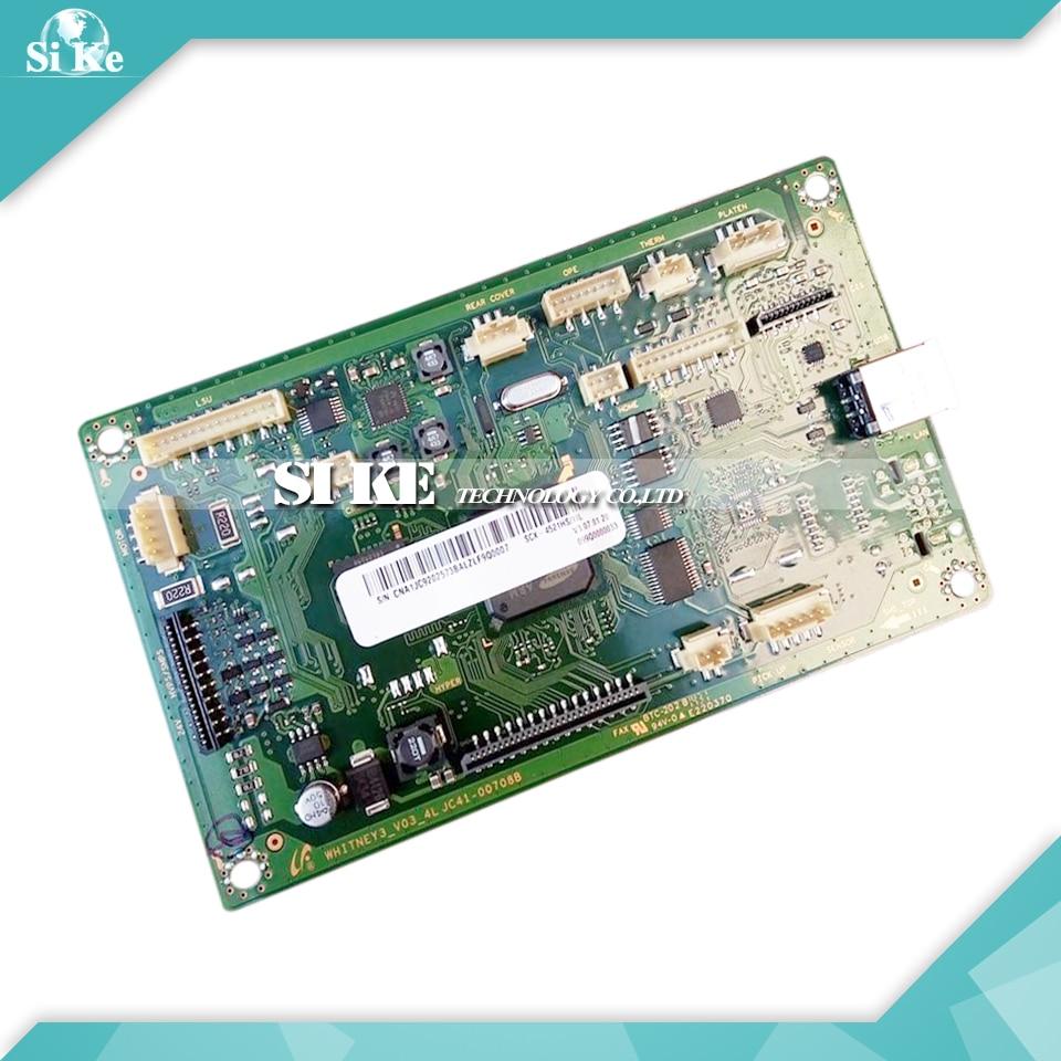 ФОТО Laser Printer Main Board For Samsung SCX-4521HS SCX-4521NS SCX 4521HS 4521NS 4521 HS NS Formatter Board Mainboard Logic Board