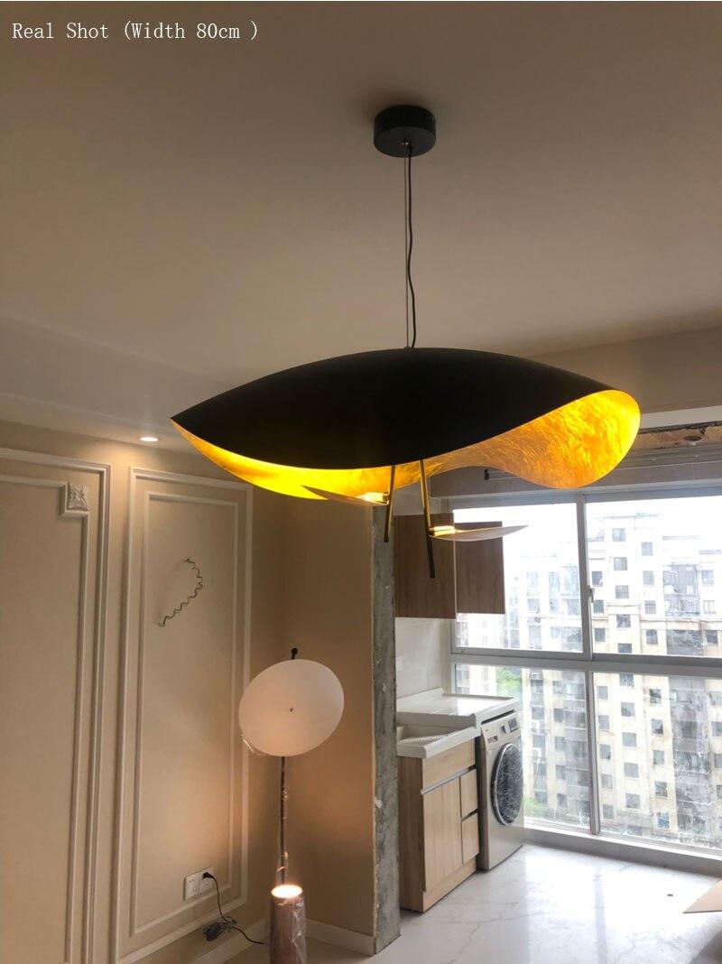 Lámpara colgante de mano de Phube, lámpara colgante moderna de Hotel, lámpara colgante para el salón - 5