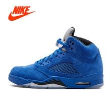 Original New Arrival Authentic Nike Air Jordan 5 Retro Suede Men's