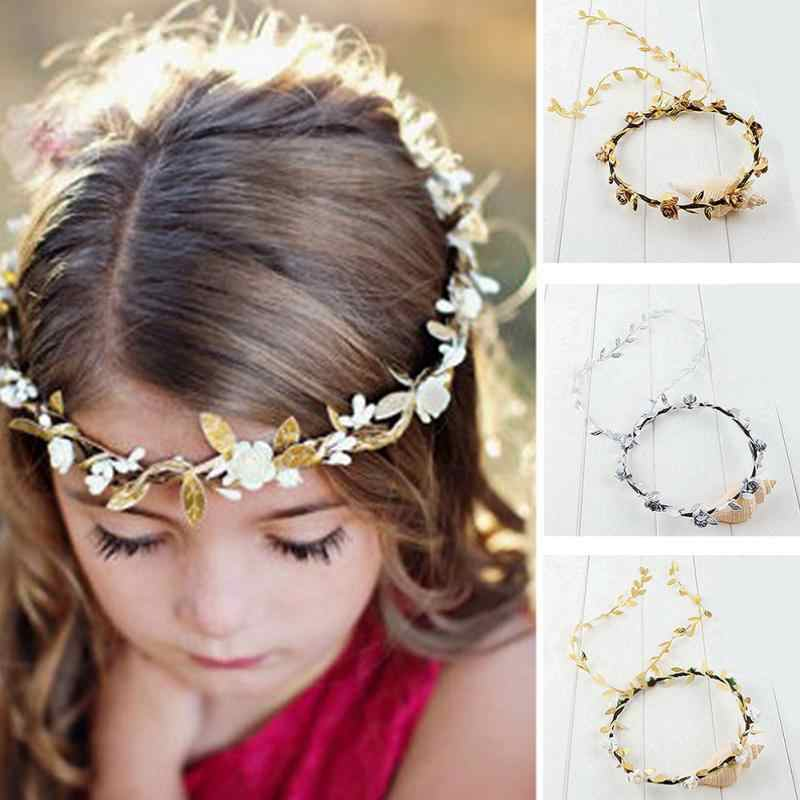 Festival Wedding Wreath Garland Crown Flower Headpiece Photography Tool For Adults And Children Apparel Accessories Girl's Accessories